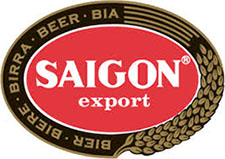 Vietnamese beer Saigon - Imported by PM-Juomatukku Oy, Tampere