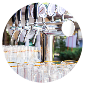 Beer tap equipment for rent - PM-Juomatukku Oy